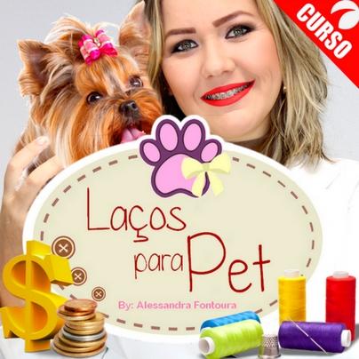 Curso Online: Como Faturar Produzindo Laços e Acessórios para Pet